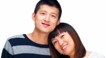 Smiling couple | Ortho Orthodontist